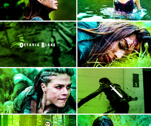 green, marie avgeropoulos, and the 100 image