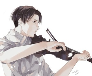 levi and aot image