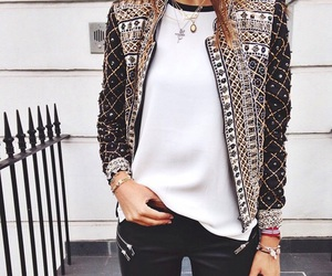 jacket, jean, and white image
