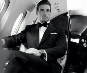 Hot, suit, and man image