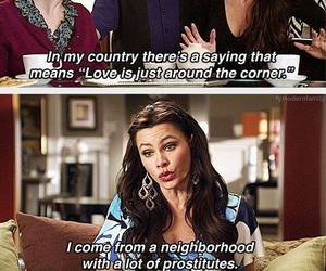 modern family, funny, and gloria image