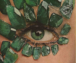 green, emerald, and eyes image