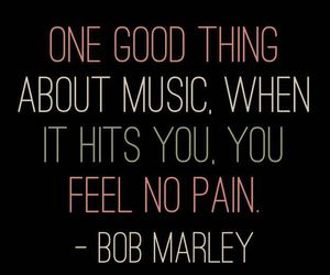quotes, bob marley, and music image