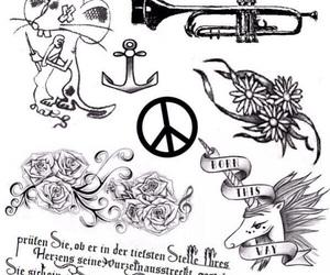 Lady gaga and Tattoos image