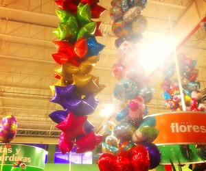 balloons, kids, and カラフル image