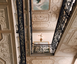 decor, stairs, and vintage image