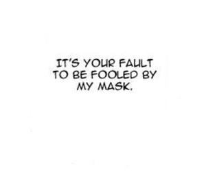 fault, manga, and mask image