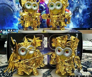 gold and minions image