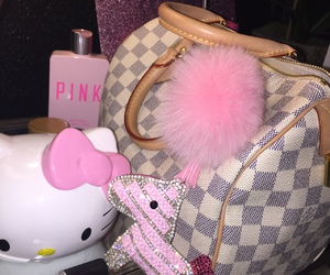 hello kitty and Louis Vuitton image