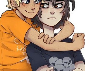 percy jackson and solangelo image