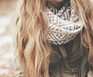 autumn, beautiful, and blond image