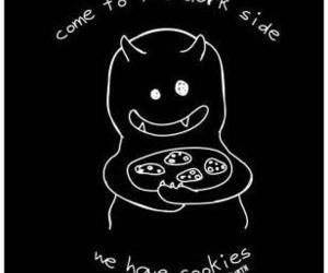 Cookies, dark side, and dark image