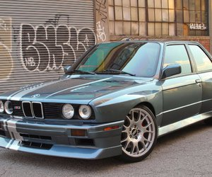 bmw, cars, and e30 image
