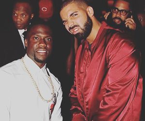 Drake and kevin hart image