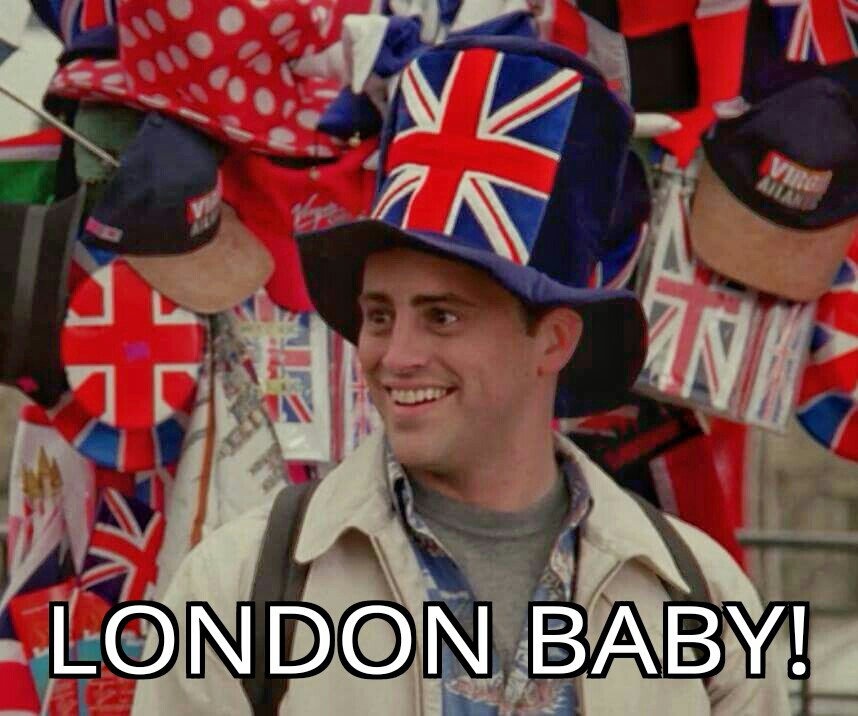 F.R.I.E.N.D.S., joey tribbiani, and london baby! image