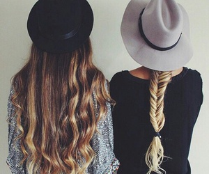 best friends, friendship, and inspirational image