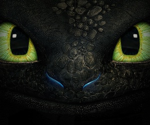 toothless, dragon, and how to train your dragon image