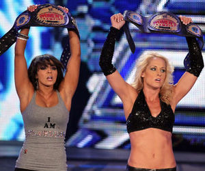Layla and michelle mccool image