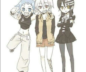 soul eater, black star, and soul image
