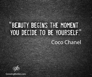 coco chanel and quote image