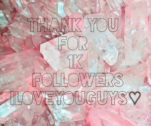 1000, followers, and thanks image