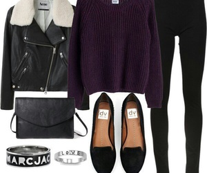 style, black, and look image