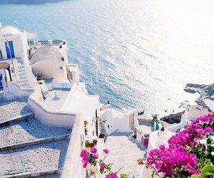 beautiful, Greece, and Island image