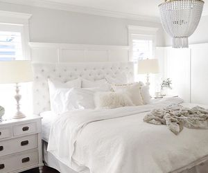 bedroom, house, and decor image