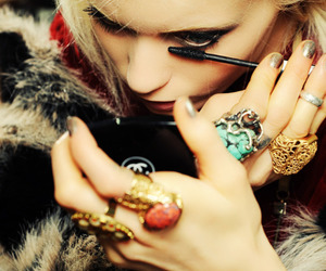chanel, model, and rings image
