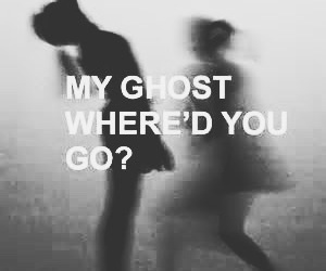 ghost, grunge, and halsey image