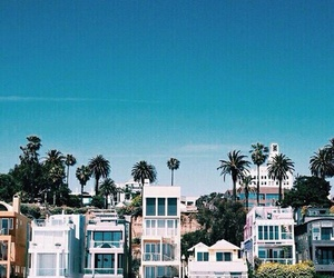 beach, house, and california image