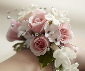corsage, Prom, and flower girl image