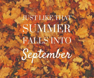 fall, September, and autumn image