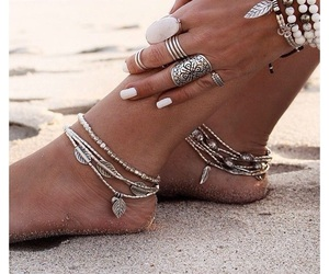 beach, silver, and summer image
