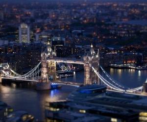 city, london, and bridge image