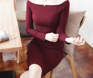 autumn, fashion, and autumn dress image