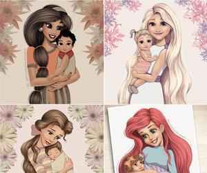 disney, baby, and princess image