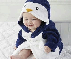 baby, penguin, and sweet image