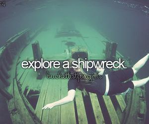 shipwreck and bucketlist image