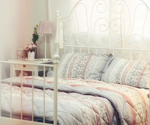 bed room, cool, and girly image