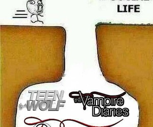 The Originals, teen wolf, and meme image