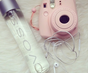 voss, pink, and camera image