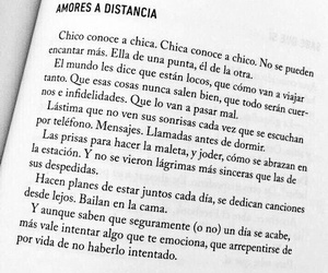book, distance, and love image