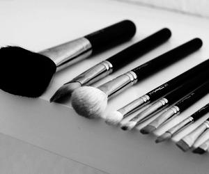 Brushes, mac, and make up image