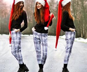 fashion, winter, and xmas image