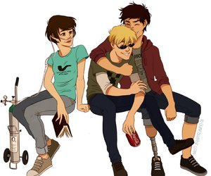 tfios, isaac, and the fault in our stars image