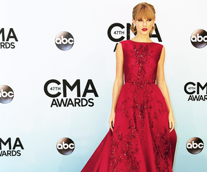Taylor Swift, red, and gorgeous image