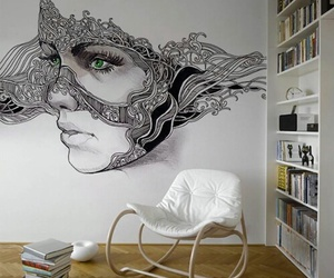 art, design, and room image