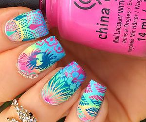 fashion, nail art, and trend image