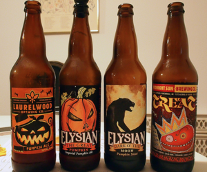 autumn, drink, and Halloween image